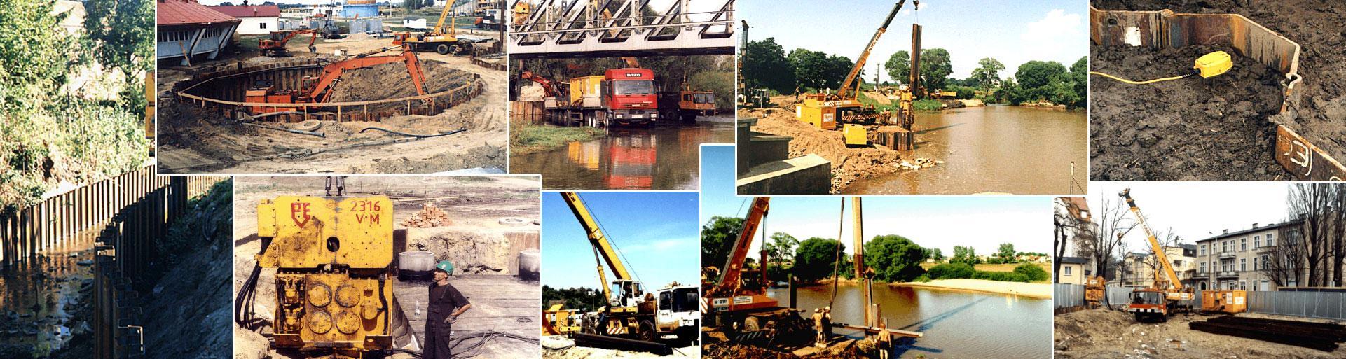 Place budowy i maszyny budowlane